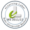 e-Learning Label WiSe 2011/12